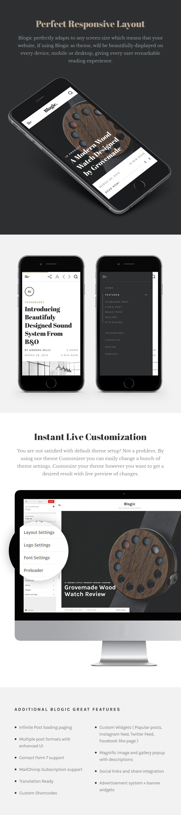 Blogic - A Responsive Blog WordPress Theme