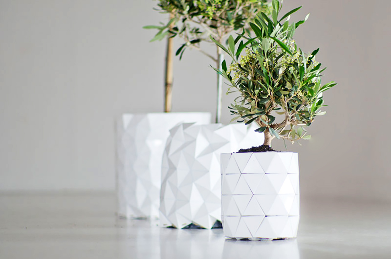 This Origami Pot Grows Along With A Plants Roots Blogic